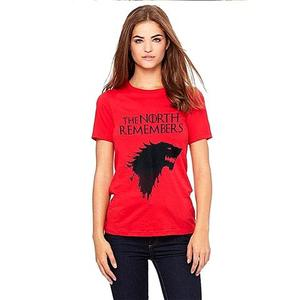 Game Of Thrones Printed T-Shirt - Gnl-Wt141 - RedHurry up! Sales Ends in