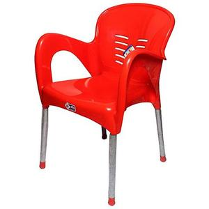 Plastic Res Relaxo Chair - RedHurry up! Sales Ends in