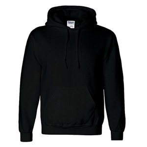 Onshoponline - Cotton Plain Hoodie For Men - BlackHurry up! Sales Ends in