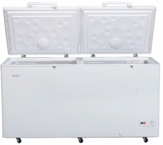Haier - Double Door Deep Freezer - HDF-545DD - WhiteHurry up! Sales Ends in