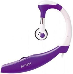 A4TECH - Headphone - Wired In-Ear - HS-12 - Purple (Brand Warranty)Hurry up! Sales Ends in