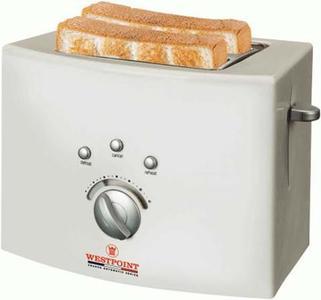 WestPoint - WF-2540 - 2 Slice Toasters - WhiteHurry up! Sales Ends in