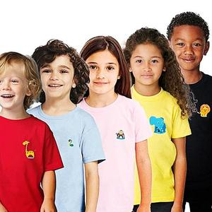 Pack of 5 - Animals Zoo Logo T-Shirts For Kids - MulticolourHurry up! Sales Ends in