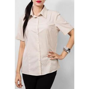 Ajmery Enterprise - Cotton Formal Camp Shirt - CreamHurry up! Sales Ends in