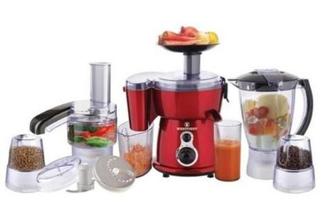 Westpoint - WF-2803 - 9 in 1 Jumbo Food Factory - RedHurry up! Sales Ends in