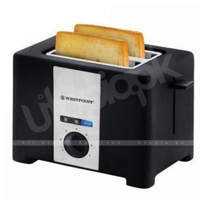 Westpoint - Deluxe 2 Slice Pop Up Toaster - WF-2561 - BlackHurry up! Sales Ends in