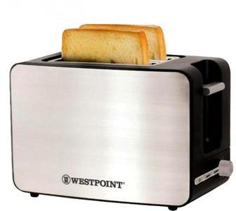 WestPoint - Deluxe 2 Slice Pop-Up Toaster - WF-2542 - BlackHurry up! Sales Ends in