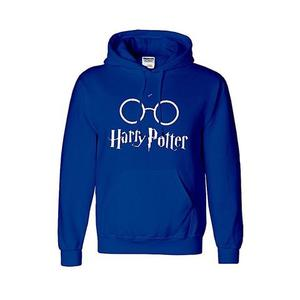 Onshoponline - Cotton Printed Harry Potter Hoodie Shirt For Men - Royal BlueHurry up! Sales Ends in