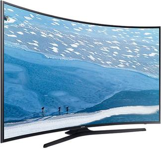 Samsung - 4K Curved UHD LED Smart TV 55 inches 55KU7350 - BlackHurry up! Sales Ends in