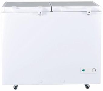 Haier - Double Door Deep Freezer - HDF-385H - WhiteHurry up! Sales Ends in