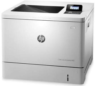 HP - LaserJet Enterprise M553dn Color 40 ppm Automatic Duplex Printer - WhiteHurry up! Sales Ends in