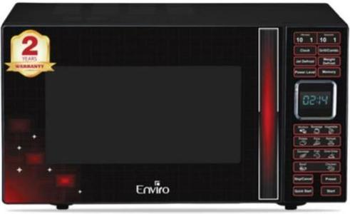 Enviro - Express Cooking Microwave Oven - ENR-28XDG3 28L - Red & BlackHurry up! Sales Ends in