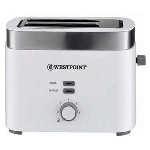 Westpoint - 2 Slice Pop-Up Toaster - WF-2583 - White & GreyHurry up! Sales Ends in