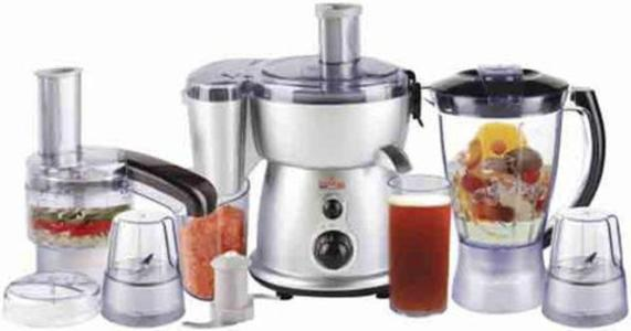 Westpoint - Jumbo Food Factory With Extra Grinder - WF-2804 S - SilverHurry up! Sales Ends in