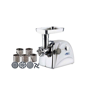 Anex - Meat Grinder & Vegetable Cutter - AG-2049 - WhiteHurry up! Sales Ends in
