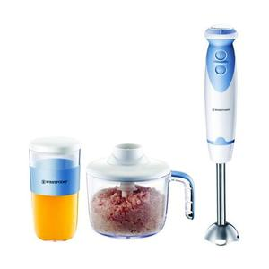 Westpoint - Deluxe Hand Blender  Chopper & Egg Beater-500W - WF-3201 - WhiteHurry up! Sales Ends in