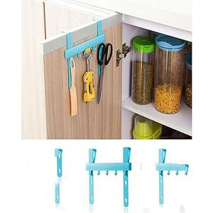 Kitchen Cabinet Door Rack - Sky BlueHurry up! Sales Ends in