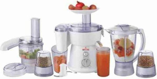 Westpoint- 9 in 1 Jumbo Food Factory With Extra Grinder - WF-2805 - WhiteHurry up! Sales Ends in