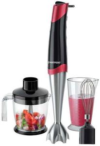 Westpoint - Hand Blender  Beater with Chopper - WF-9816 - Silver & BlackHurry up! Sales Ends in