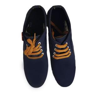 Stylish Sneaker For Men - Navy BlueHurry up! Sales Ends in