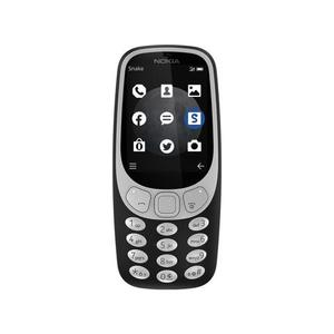 Nokia - 3310 - Dual Sim - 2.4 - 2MP - 3G - BlackHurry up! Sales Ends in