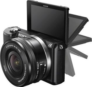Sony - DSLR - ILCE-5000Y - BlackHurry up! Sales Ends in