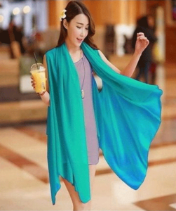 Royal Collection - Cotton Stylish Shrug For Women - SkyBlueHurry up! Sales Ends in
