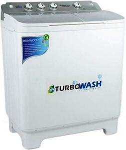 Kenwood - Semi Automatic Washing and Dryer Machine 10kg KWM1012 - WhiteHurry up! Sales Ends in