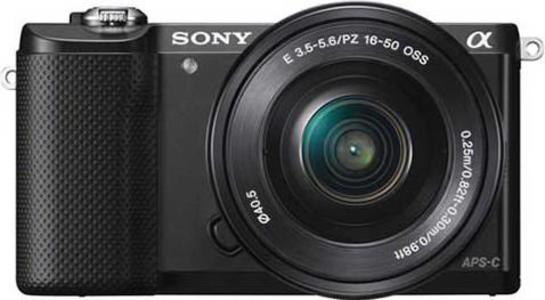 Sony - DSLR - ILCE-5000L - BlackHurry up! Sales Ends in