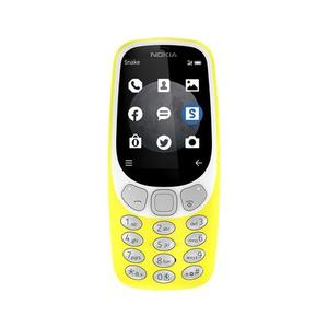 Nokia - 3310 - Dual Sim - 2.4 - 2MP - 3G - YellowHurry up! Sales Ends in