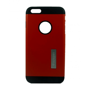 Spigen - Back Case For iPhone 6 Plus - Maroon and BlackHurry up! Sales Ends in