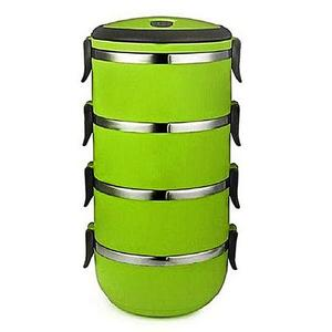 4 Tier Lunch Box - Lb 4 - GreenHurry up! Sales Ends in