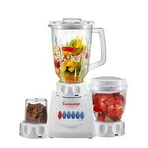 Cambridge Juicer Blender & Sauce Maker With Dry Mill 250W - BL-210 - WhiteHurry up! Sales Ends in
