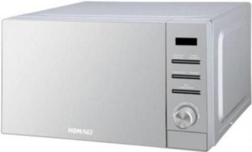 HOMAGE - Microwave Oven 203S - SilverHurry up! Sales Ends in