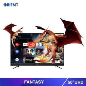 Orient - Fantasy 55S Uhd Led Tv - BlackHurry up! Sales Ends in