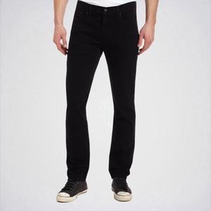 Ajmery Enterprise - Mens Slim Fit Jeans - Aj-Bl02 - Pure BlackHurry up! Sales Ends in