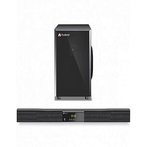 Audionic - Monster Sound Bar Bluetooth/ USB supported/ SD card/ HDMI - MS10 - BlackHurry up! Sales Ends in