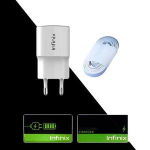 Infinix - Original Variable Flash Charger - WhiteHurry up! Sales Ends in