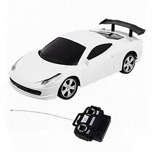 Rc Ferrari Car - WhiteHurry up! Sales Ends in