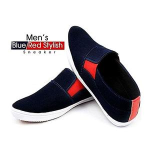 Canvas Shoes For Men - BlueHurry up! Sales Ends in