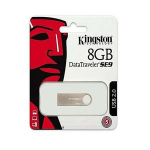 Kingston - 8GB - USB 2.0 - DTSE9 - BlueHurry up! Sales Ends in