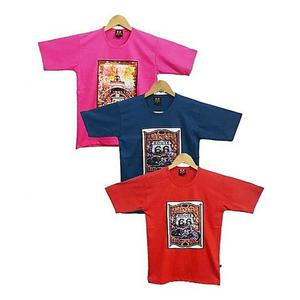 Bindas Collection - Pack Of 3 China Fabirc Printed T-Shirts For Boys - MulticolorHurry up! Sales Ends in