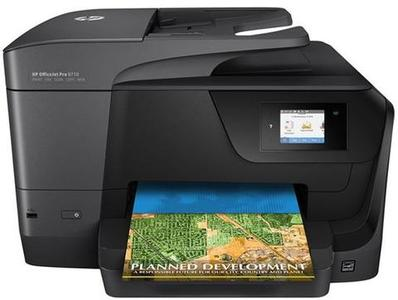 HP - OfficeJet Pro 8710 Wireless All in One Photo Printer - BlackHurry up! Sales Ends in
