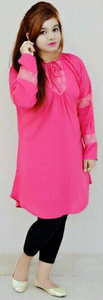 My Deals Bazaar - Pearl Boski Lilan Top for Women - PinkHurry up! Sales Ends in