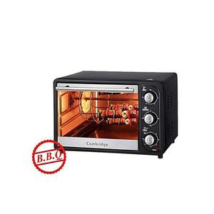 Cambridge 12 Pizza & 6 Slice Toast Hot Plate B.B.Q Grill Rostisserie Electric Oven - Eo-6123 - BlackHurry up! Sales Ends in