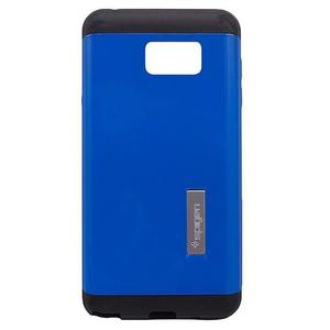 Spigen - Back Case Cover Samsung Galaxy Note 5 - Blue and BlackHurry up! Sales Ends in