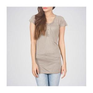The Ajmery - Viscose Western Tunic - GreyHurry up! Sales Ends in