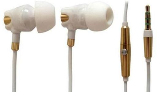 A4TECH - MK-790 – HD Ceramic Earphone – White (Brand Warranty)Hurry up! Sales Ends in