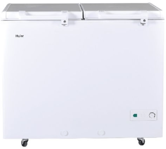Haier - Double Door Deep Freezer - HDF-325H - WhiteHurry up! Sales Ends in