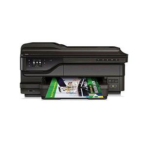 HP - HP Officejet 7612 Wireless Color Photo Printer with Scanner  Copier and Fax - BlackHurry up! Sales Ends in